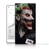 Teknomeg Sony Xperia Z5 Joker Joe Baskılı Silikon Kılıf