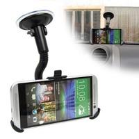 Markacase Htc One M8 Telefon Tutucu Cam Vantuzlu