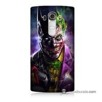 Teknomeg Lg G4 Batman Vs Joker Baskılı Silikon Kılıf