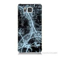 Teknomeg Samsung Galaxy Alpha G850 Matematik Baskılı Silikon Kılıf