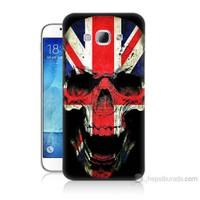 Teknomeg Samsung Galaxy A8 Kapak Kılıf İngiltere Baskılı Silikon