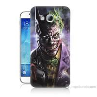 Teknomeg Samsung Galaxy A8 Kapak Kılıf Joker Vs Batman Baskılı Silikon