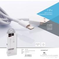 Modaphone İphone 5/5S/6/6S Çelik Sarmal Güçlendirilmiş Şarj Kablo