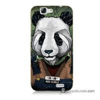 Teknomeg Huawei Ascend G7 Kapak Kılıf İşçi Panda Baskılı Silikon