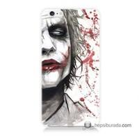 Teknomeg İphone 6 Plus Kapak Kılıf Kanlı Joker Baskılı Silikon