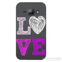 Cover&Case Samsung Galaxy J1 Silikon Tasarım Telefon Kılıfı Ccs02-J01-0044
