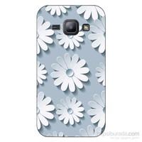 Cover&Case Samsung Galaxy J1 Silikon Tasarım Telefon Kılıfı Ccs02-J01-0077