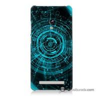 Teknomeg Asus Zenfone 5 Lite Kapak Kılıf Asit Baskılı Silikon