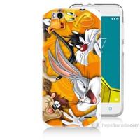 Teknomeg Vodafone Smart 6 Disney Karakterleri Baskılı Silikon Kapak Kılıf