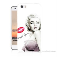 Teknomeg Vestel Venüs V3 5570 Marilyn Monroe Baskılı Silikon Kılıf
