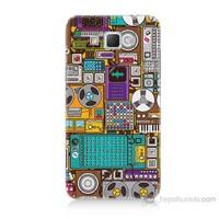 Teknomeg Samsung Galaxy Grand Max Teknoloji Baskılı Silikon Kılıf
