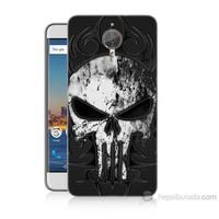 Teknomeg General Mobile Gm5 Plus Punnisher Kurukafa Baskılı Silikon Kılıf