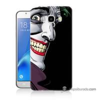Teknomeg Samsung J7 2016 Kapak Kılıf Joker Baskılı Silikon