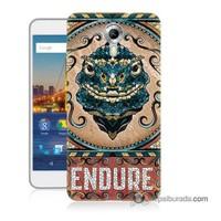 Teknomeg General Mobile 4G Android One Kılıf Kapak Endure Baskılı Silikon