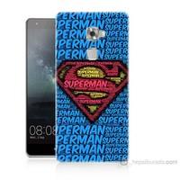Teknomeg Huawei Ascend Mate S Süpermen Baskılı Silikon Kılıf