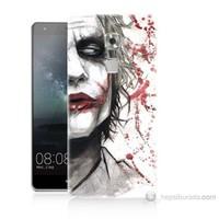 Teknomeg Huawei Ascend Mate S Kanlı Joker Baskılı Silikon Kılıf