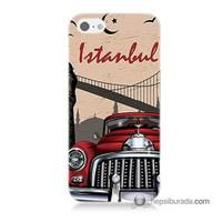 Teknomeg İphone Se Kapak Kılıf İstanbul Baskılı Silikon