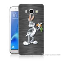 Teknomeg Samsung Galaxy J7 2016 Kapak Kılıf Bugs Bunny Baskılı Silikon