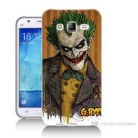 Teknomeg Samsung Galaxy J5 Kapak Kılıf Joker Baskılı Silikon