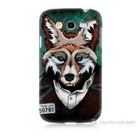 Teknomeg Samsung Galaxy Grand Duos İ9082 Bad Wolf Baskılı Silikon Kılıf