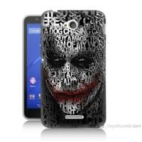 Teknomeg Sony Xperia E4G Joker Baskılı Silikon Kılıf