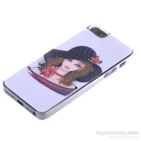Qapak Taşlı Kapak iPhone 5/5s Renkli uz244434003045