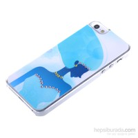 Qapak Taşlı Kapak iPhone 5/5s Renkli uz244434003087