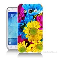 Teknomeg Samsung Galaxy J7 Kapak Kılıf Kasımpatı Baskılı Silikon