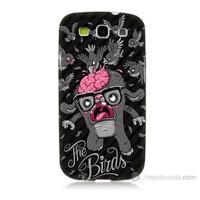 Teknomeg Samsung Galaxy S3 The Birds Baskılı Silikon Kılıf