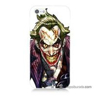 Teknomeg İphone Se Kapak Kılıf Joker Baskılı Silikon