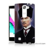Teknomeg Lg G4c Kılıf Kapak Mustafa Kemal Atatürk Baskılı Silikon