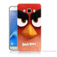 Teknomeg Samsung Galaxy J5 2016 Kapak Kılıf Angry Birds Baskılı Silikon