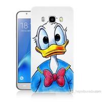 Teknomeg Samsung Galaxy J5 2016 Kapak Kılıf Donald Duck Baskılı Silikon