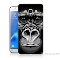 Teknomeg Samsung Galaxy J5 2016 Kapak Kılıf Goril Baskılı Silikon