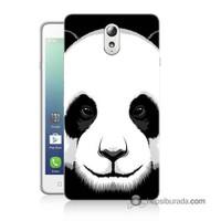 Teknomeg Lenovo Vibe P1m Kapak Kılıf Panda Baskılı Silikon