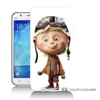 Teknomeg Samsung Galaxy J5 Kılıf Kapak Çizgi Karakter Baskılı Silikon