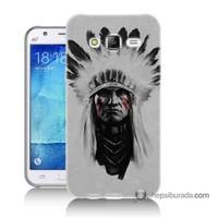Teknomeg Samsung Galaxy J5 Kılıf Kapak Geronimo Baskılı Silikon