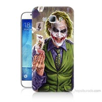 Teknomeg Samsung Galaxy A8 Kartlı Joker Baskılı Silikon Kılıf