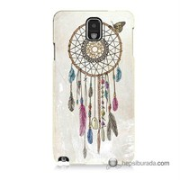 Teknomeg Samsung Galaxy Note 3 Kapak Kılıf Dream Catcher Baskılı Silikon