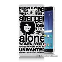 Teknomeg Samsung Galaxy Note 5 Kapak Kılıf Afiş Baskılı Silikon