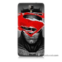 Teknomeg General Mobile Discovery 2 Plus Kapak Kılıf Batman Vs Superman Baskılı Silikon
