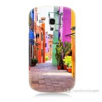 Teknomeg Samsung Galaxy S3 Mini Sokak Baskılı Silikon Kılıf