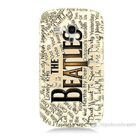 Teknomeg Samsung Galaxy S3 Mini The Beatles Baskılı Silikon Kılıf