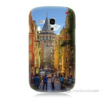Teknomeg Samsung Galaxy S3 Mini Galata Kulesi Baskılı Silikon Kılıf
