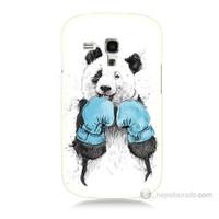 Teknomeg Samsung Galaxy S3 Mini Boksör Panda Baskılı Silikon Kılıf