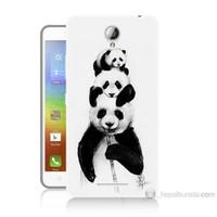 Teknomeg Lenovo A5000 Panda Ailesi Baskılı Silikon Kılıf