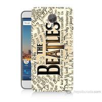 Teknomeg General Mobile Gm5 Plus The Beatles Baskılı Silikon Kılıf