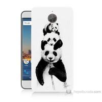Teknomeg General Mobile Gm5 Plus Panda Ailesi Baskılı Silikon Kılıf