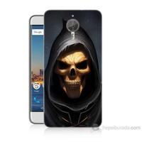 Teknomeg General Mobile Gm5 Plus Ölüm Meleği Baskılı Silikon Kılıf