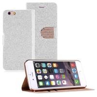 Teleplus İphone 6S Plus Taşlı Kılıf Beyaz